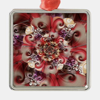 Relief Flower designed by Tutti Metal Ornament