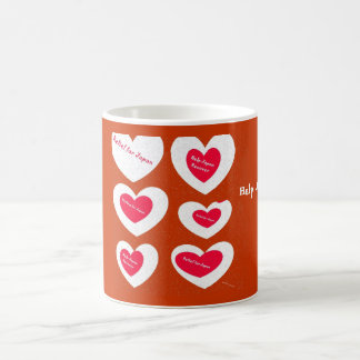 Relief for Japan Hearts Mug