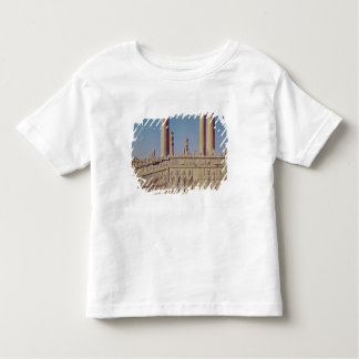 Relief frieze on the front of the eastern toddler t-shirt
