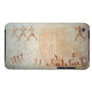 Relief from the Mastaba of Akhethotep depicting bo iPod Touch Case