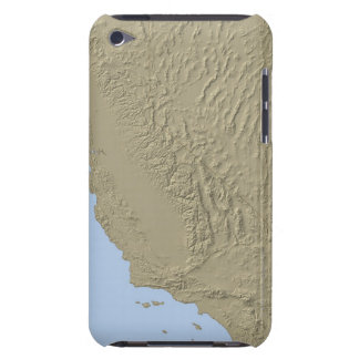 Relief Map of California and Nevada Barely There iPod Covers