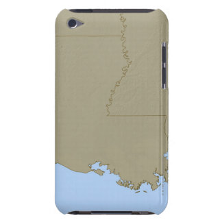 Relief Map of Louisiana Case-Mate iPod Touch Case