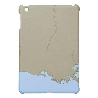 Relief Map of Louisiana iPad Mini Cover
