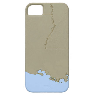 Relief Map of Louisiana iPhone SE/5/5s Case
