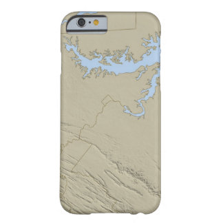Relief Map of Maryland Barely There iPhone 6 Case