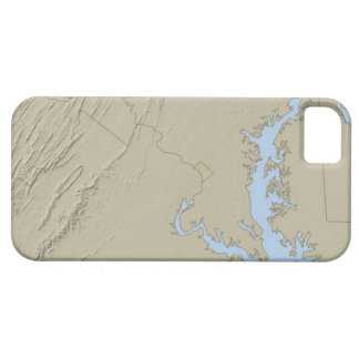 Relief Map of Maryland iPhone SE/5/5s Case