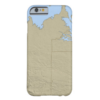Relief Map of Massachusetts Barely There iPhone 6 Case