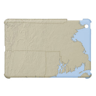 Relief Map of Massachusetts Case For The iPad Mini