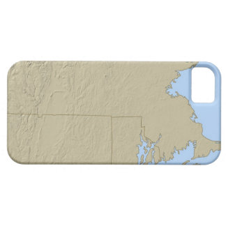 Relief Map of Massachusetts iPhone SE/5/5s Case