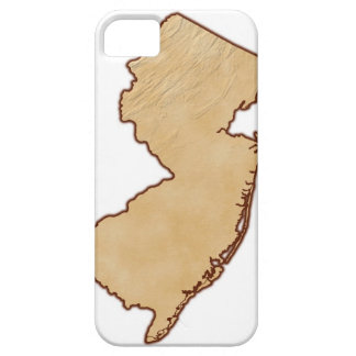 Relief Map of New Jersey iPhone SE/5/5s Case