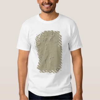 Relief Map of New Mexico Shirt