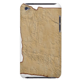 Relief Map of Oregon 2 Barely There iPod Cases