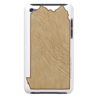 Relief Map of Pennsylvania iPod Touch Cover