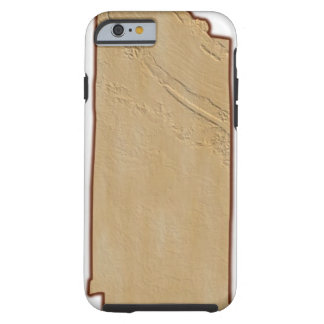 Relief Map of Tennessee Tough iPhone 6 Case
