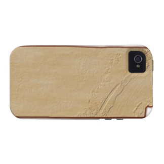 Relief Map of Tennessee iPhone 4 Cover