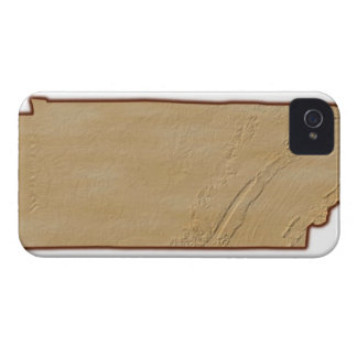 Relief Map of Tennessee Case-Mate iPhone 4 Cases