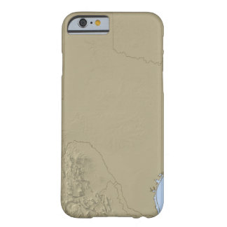 Relief Map of Texas 2 Barely There iPhone 6 Case