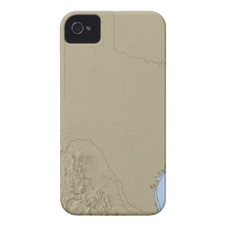 Relief Map of Texas 2 iPhone 4 Case
