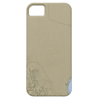 Relief Map of Texas 2 iPhone 5 Case