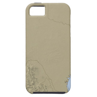 Relief Map of Texas 2 iPhone SE/5/5s Case