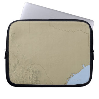 Relief Map of Texas 2 Laptop Sleeve