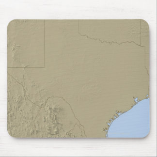 Relief Map of Texas 2 Mouse Pad