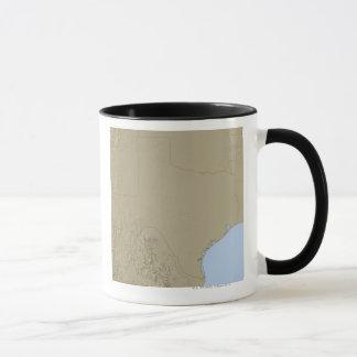 Relief Map of Texas 2 Mug