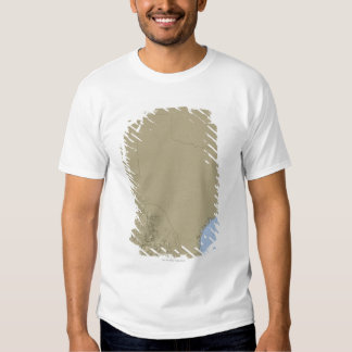 Relief Map of Texas 2 T Shirt