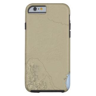 Relief Map of Texas 2 Tough iPhone 6 Case