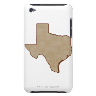 Relief Map of Texas Barely There iPod Cover
