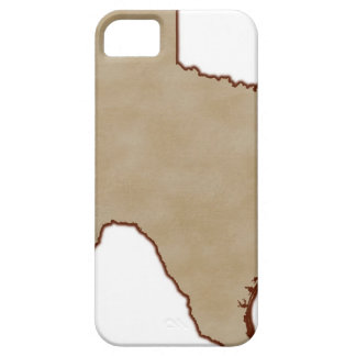 Relief Map of Texas iPhone 5 Cases