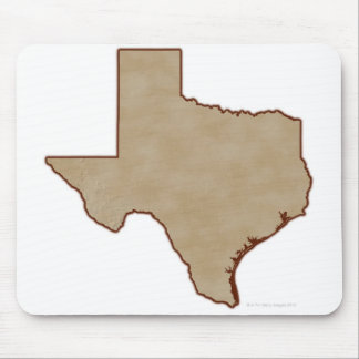 Relief Map of Texas Mouse Pad
