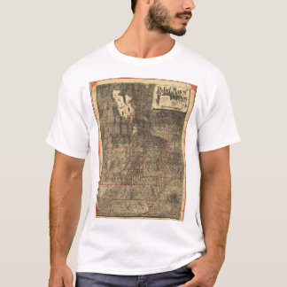 Relief Map of Utah (1895) T-Shirt