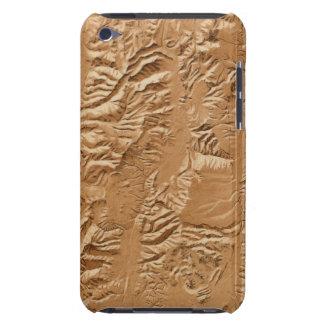 Relief map of Utah iPod Case-Mate Case