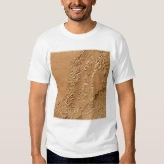 Relief map of Utah T Shirt