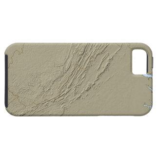 Relief Map of Virginia 2 iPhone SE/5/5s Case