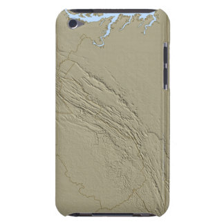 Relief Map of Virginia 2 iPod Touch Case