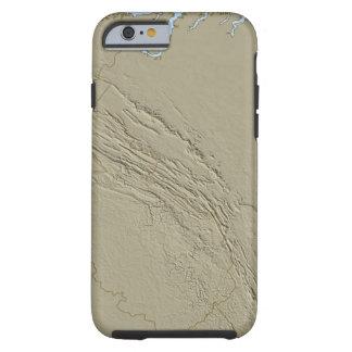 Relief Map of Virginia 2 Tough iPhone 6 Case