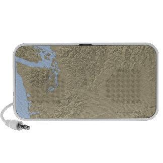 Relief Map of Washington Portable Speaker