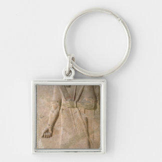 Relief of an Assyrian warrior Keychain