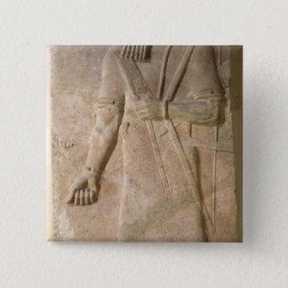 Relief of an Assyrian warrior Pinback Button