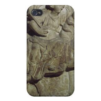 Relief of Epona, Gaulish goddess iPhone 4 Cover