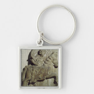 Relief of Epona, Gaulish goddess Keychain