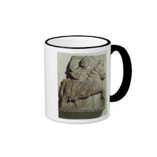 Relief of Epona, Gaulish goddess Ringer Coffee Mug