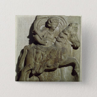 Relief of Epona, Gaulish goddess Pinback Button