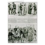 Relief of Irish Distress Greeting Card