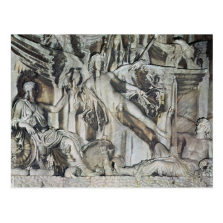 Relief of the Apotheosis of Emperor Antoninus Postcard