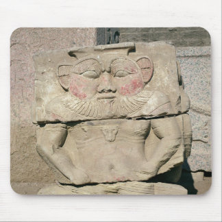 Relief of the Egyptian household god, Bes Mouse Pad