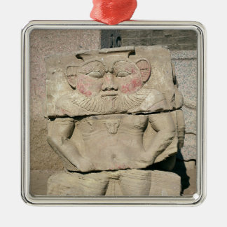 Relief of the Egyptian household god Bes Ornament