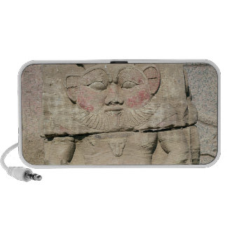 Relief of the Egyptian household god, Bes Laptop Speaker